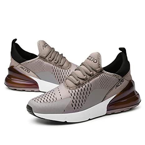 Amazon.com: HULKAY New Upgrade Mens Lightweight Running Shoes Simple Style Patchwork Knit Shoes Fitness Tracks for Men: Clothing