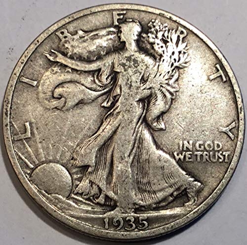- 1935 Walking Liberty Half Dollar Fine