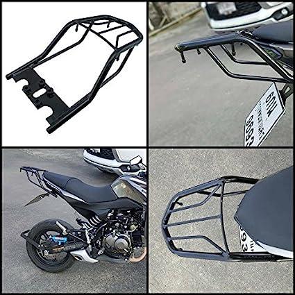 Rack Seat For Kawasaki z125 Z125 Pro Cushion Rear Ride On Pillion Adjunct  Weight Luggage Cargo Rack Kawasaki z125 Z125 Pro All Model