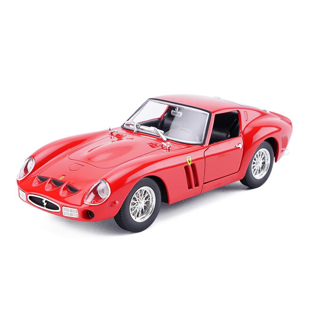 promociones de equipo FDHLTR Modelo de de de Coche Coche 1 24 Ferrari 250GTO Adornos de Juguete colección de Autos Deportivos Joyas 18x7x5CM Modelo de Auto  Hay más marcas de productos de alta calidad.