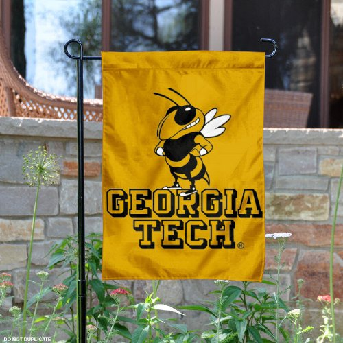 Tech Garden Flag (Georgia Tech Garden Flag and Yard Banner)