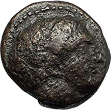 359 GR Philip II 359BC Olympic Games HORSE Race WIN Mace coin Good