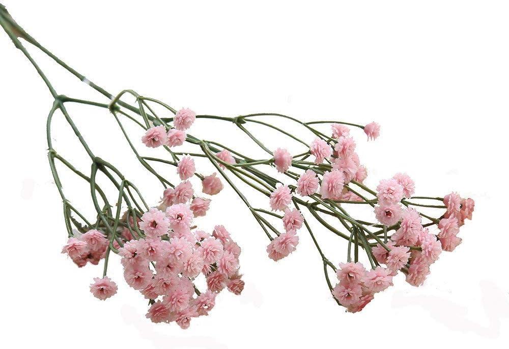 Innerternet Gypsophile Artificielle Florale Fleur Faux Soie De Mariage F/êTe Bouquet D/éCor /À La Maison Faux Fleurs Le Souffle De B/éB/é Floral E