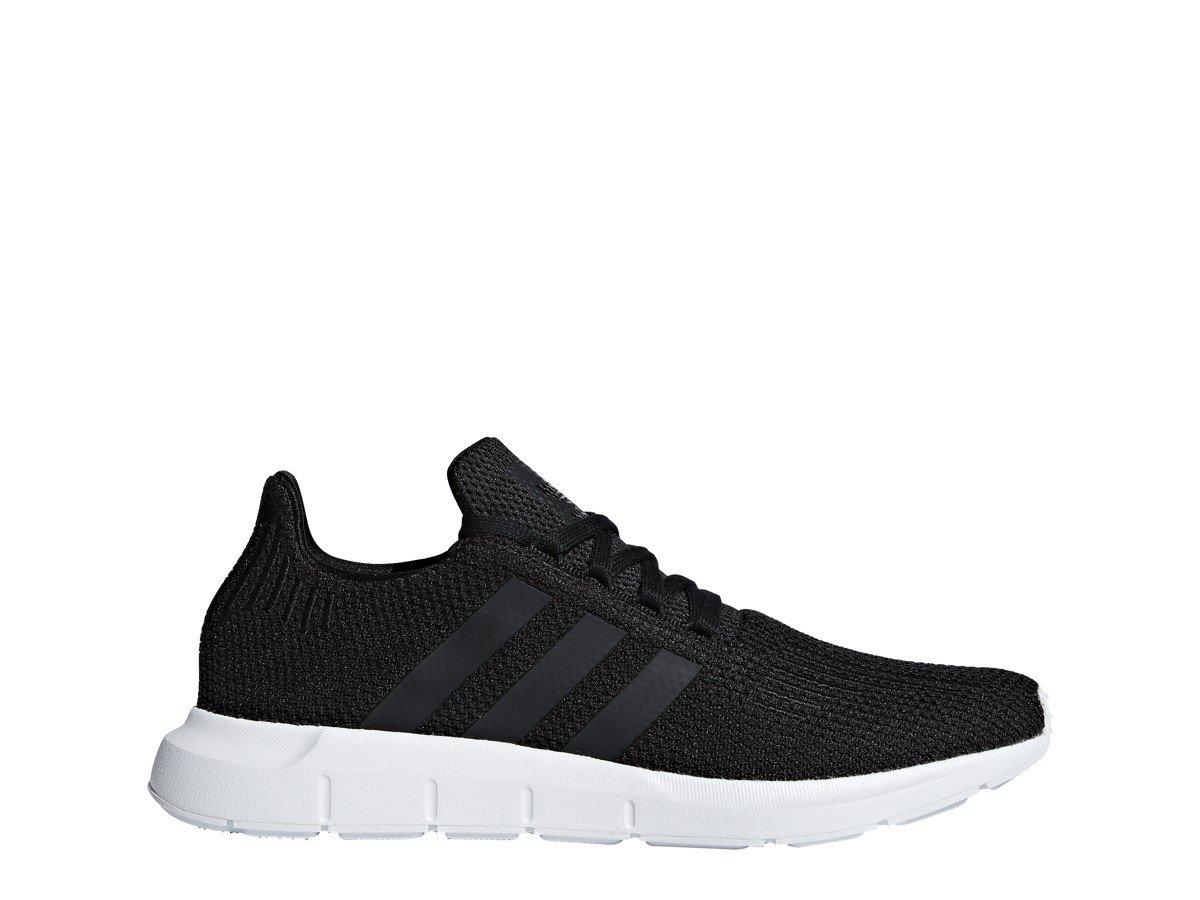 adidas Originals Men's Swift Running Shoe, Black/White, 11 M US by adidas Originals