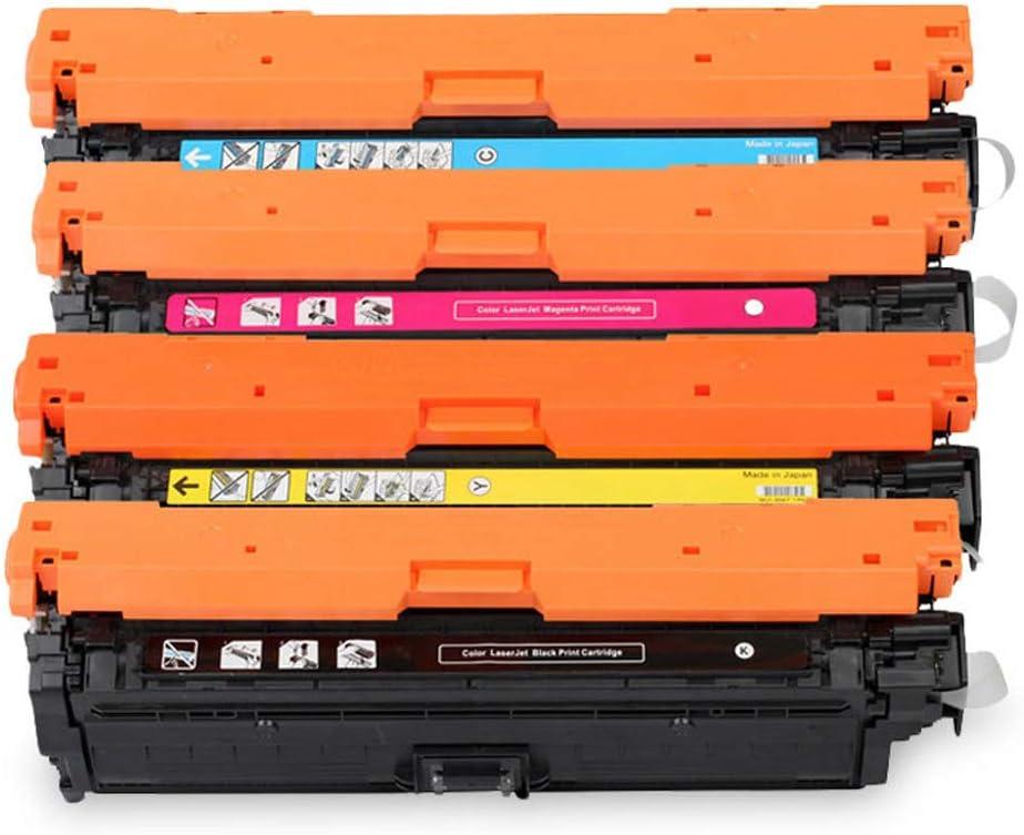 Suitable for HPCE270A Color Compatible Toner Cartridge HP CP5525n/5525dn/CE270A/CE271A/CE272A/CE273A Printer Toner Cartridge 4 Colors,4colors
