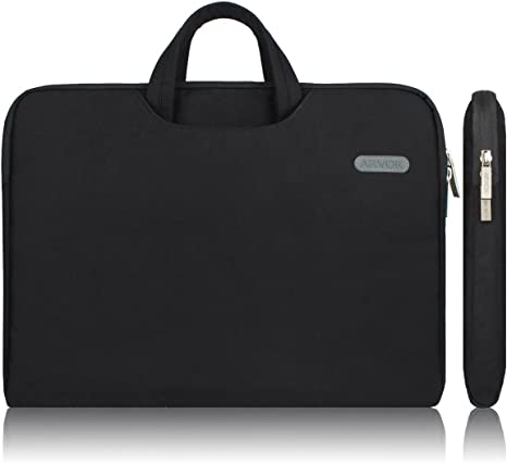 Amazon Com Arvok 13 13 3 14 Inch Multi Color Size Water Resistant Laptop Sleeve Bag With Handle Notebook Computer Case Ultrabook Briefcase Carrying Bag Black Computers Accessories