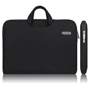 336f973927 ARVOK 15 15.6 Pouces Housse avec Poignée pour Ordinateur Portable Sacoche  Pochette PC en Toile de