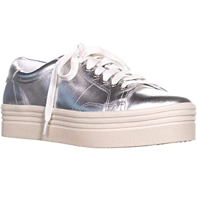75ce4c56a64b Marc Fisher LTD Women s Emmy Silver Leather Oxford