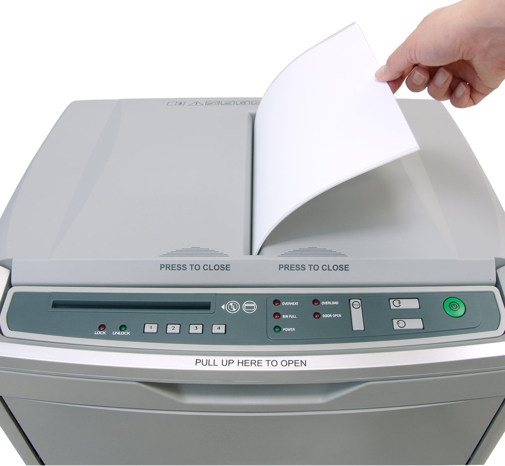 Boxis AF300 AutoShred 300-Sheet Micro Cut Paper Shredder by BOXIS (Image #4)