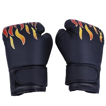 0b86892d44617 1ペア ボクシンググローブ パンチンググローブ 子供用 手袋 拳闘 武術・格闘技 空手 防具 PU