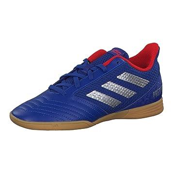 5f7b4476c20261 adidas Performance Predator 19.4 Sala Indoor Fußballschuh Kinder blau rot