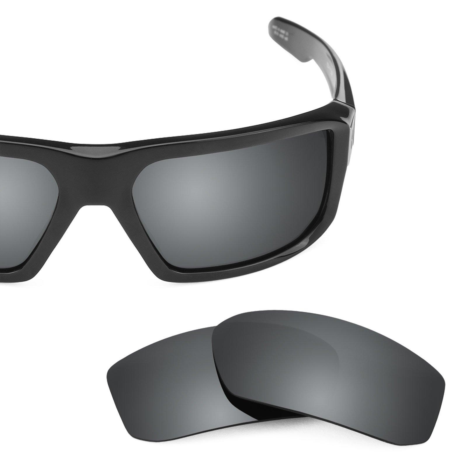 Revant Polarized Replacement Lenses for Spy Optic McCoy Black Chrome MirrorShield