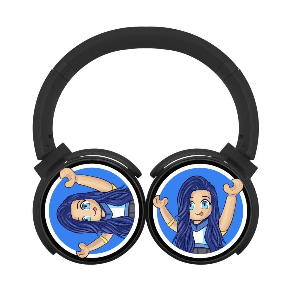 Its-Funneh Wireless Headphones Bluetooth Over Ear Headphones Noise-canceling Earphone-Black
