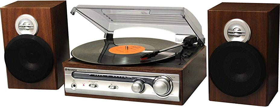 Roadstar HIF-5988 tocadisco Plata: Amazon.es: Electrónica
