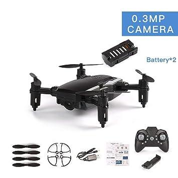Funnyrunstore LF606 Doble batería Drone con cámara de 0.3MP FPV ...