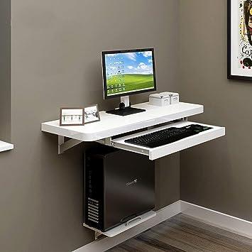 stts Lazy Table-Folding Table Montado en la Pared Table PC ...