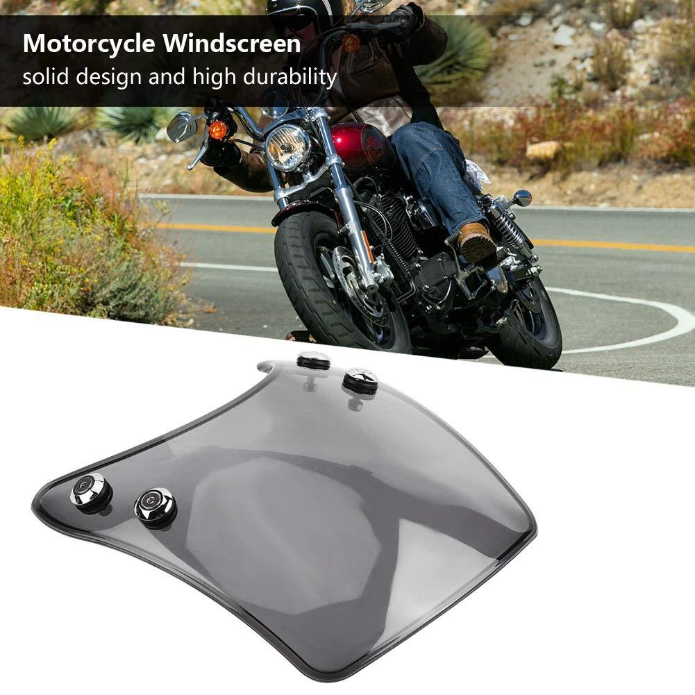 Farbe : Tawny Vobor Windschutzscheibe f/ür Motorrad Windschutzscheibe Windschutzscheibe Windabweiser