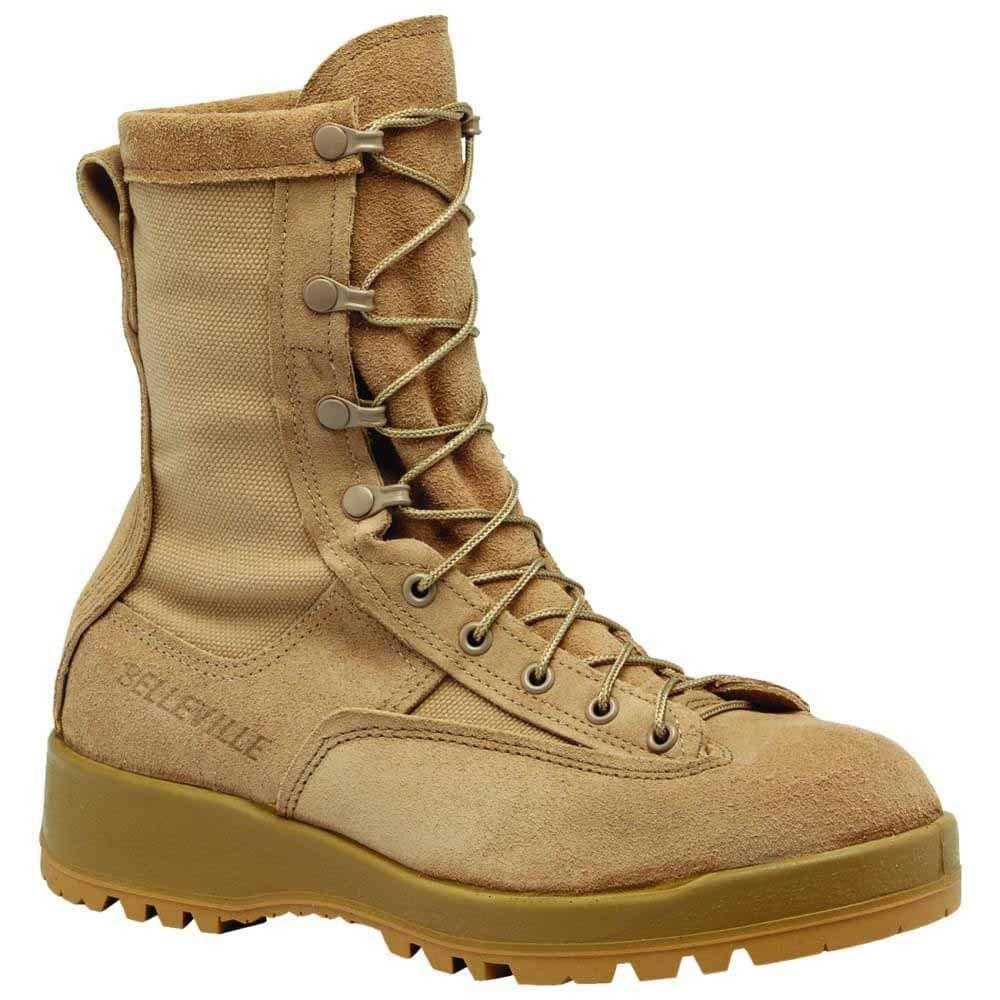 Amazon.com  Belleville Mens Waterproof Combat   Flight Work Duty Boots Tan   Shoes 268690b1f