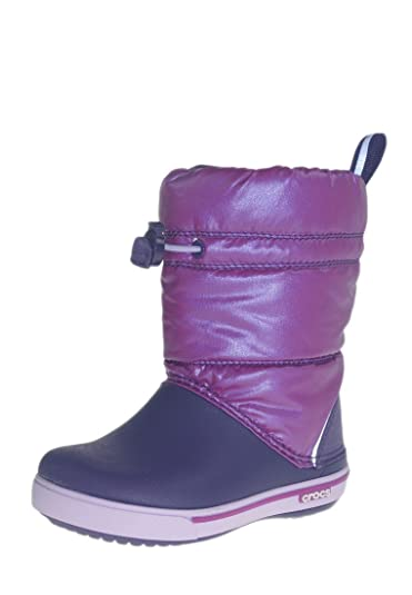 newest collection a5f80 b03dd CROCS Winterstiefel - CROCBAND IRIDESCENT GUST BOOT - viola mulberry,  Größe:25