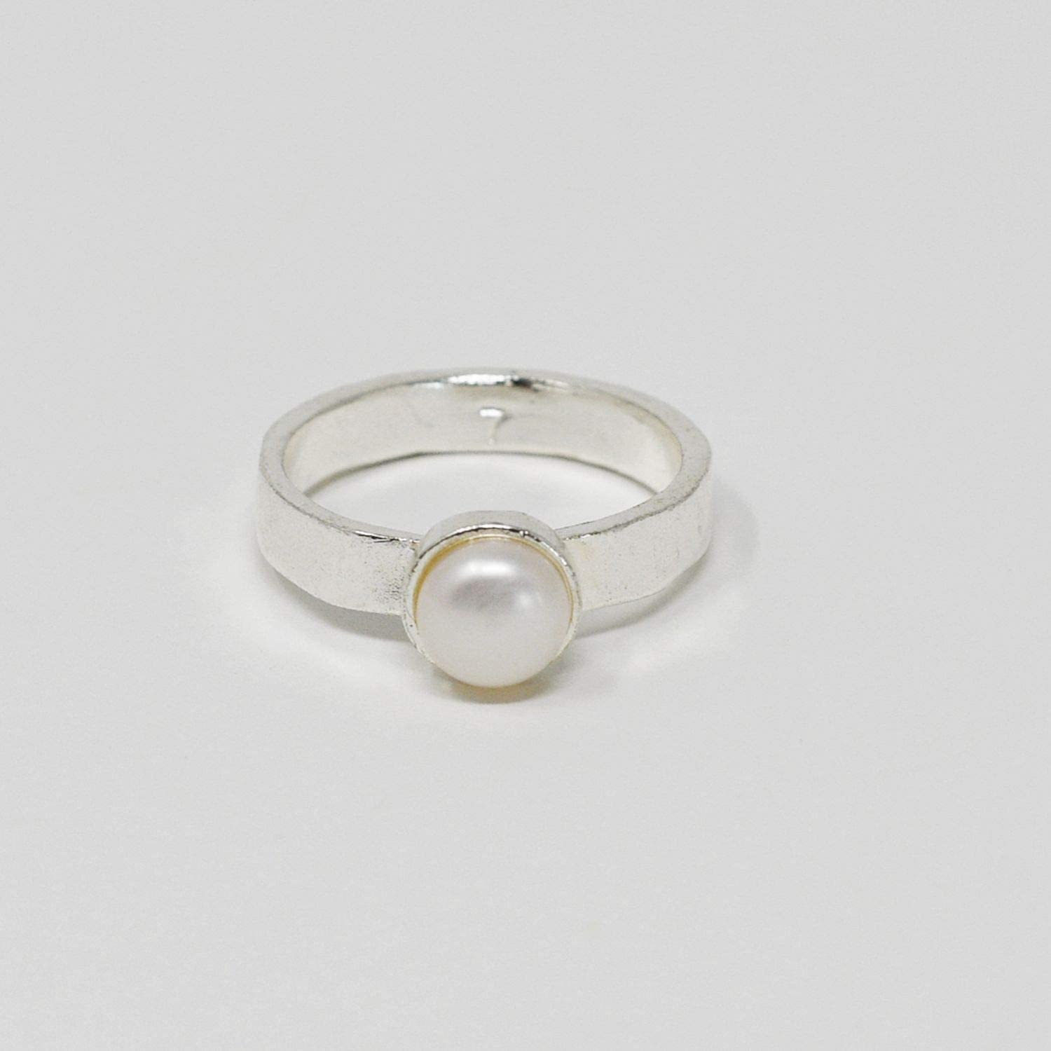 Pearl Ring|Dainty Ring|Thin Gold Ring|Stacking Ring|Freshwater Pearl Ring|Delicate Pearl Ring|Promise Ring|Dainty Ring|Chevron Ring|Jewelry