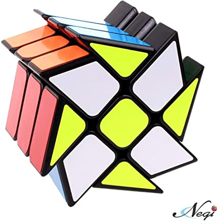 Negi Rubiks Windmill Creative Decompression Magic Cube
