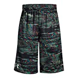 Under Armour Boys Instinct Printed Shorts Black