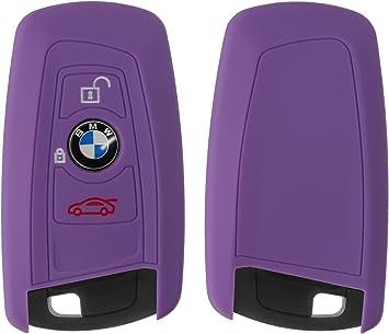 Yayago Silikon Hülle Für Bmw 3 Tasten Autoschlüssel Elektronik