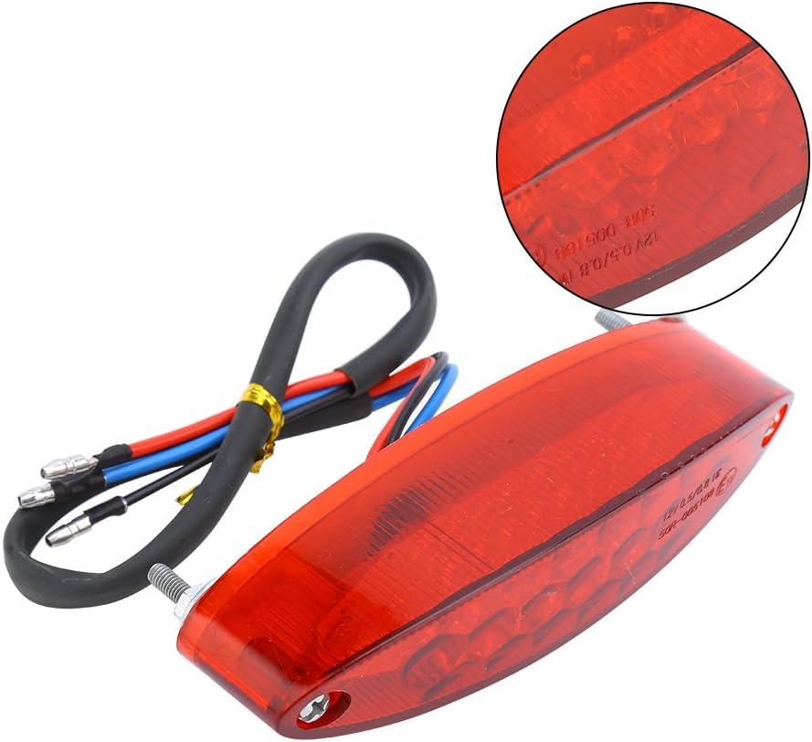 Duokon Lumi/ère de queue de moteur de Brake 28 a men/é la lumi/ère de queue de frein de moteur pour ATV LTZ Roi Coureur DR DRZ 650 400