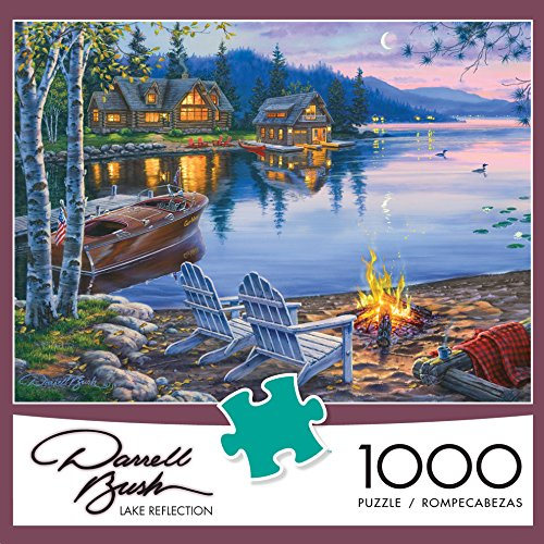 Buffalo Games - Darrell Bush - Lake Reflection - 1000 Piece Jigsaw Puzzle