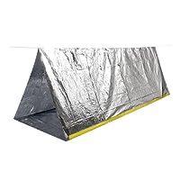 Portatil Carpa Refugio De Campamento De Emergencia Plegable Supervivencia Al Aire Libre Para Acampar