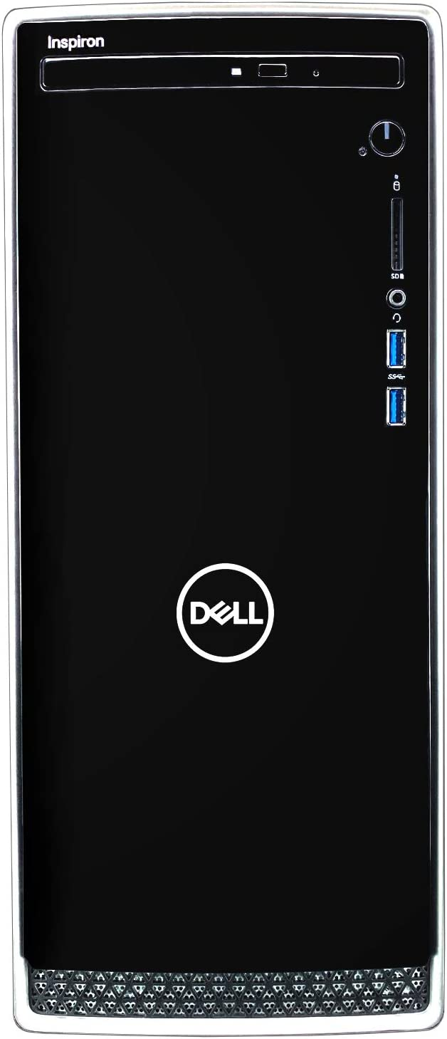 Dell Inspiron i3671 Desktop Computer - 9th Gen Intel Core i7-9700 8-Core up to 4.70 GHz, 32GB DDR4 Memory, 1TB SSD, NVIDIA GeForce GTX 1650 4GB GDDR5, DVD Burner, Windows 10 Pro (64-bit)