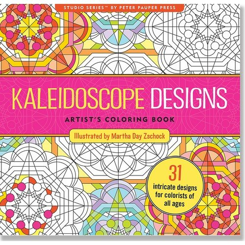 Pdf Crafts Kaleidoscope Designs Adult Coloring Book (31 stress-relieving designs) (Studio)