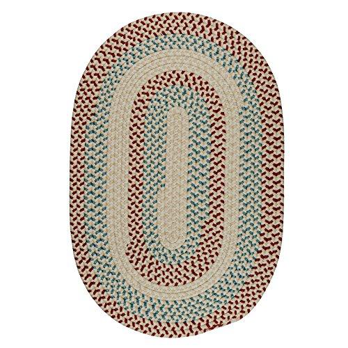 Braided Sweet (Carousel Polypropylene Braided Rug, 7-Feet by 9-Feet, Sweetpea)