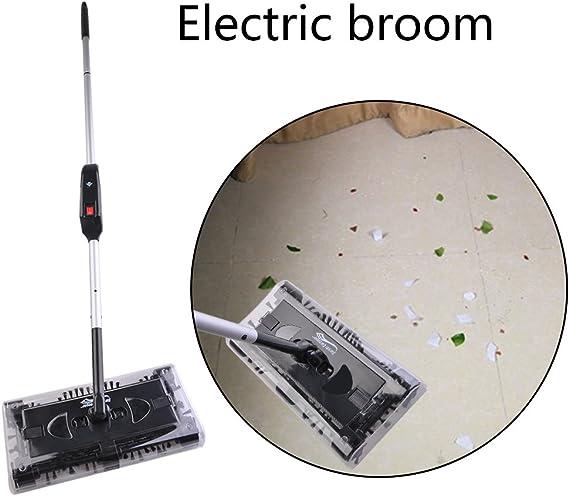 Acoplador De Escoba eléctrica en casa multifuncional giro limpiador automática presupuesto limpiador Máquina Negro Easy operate