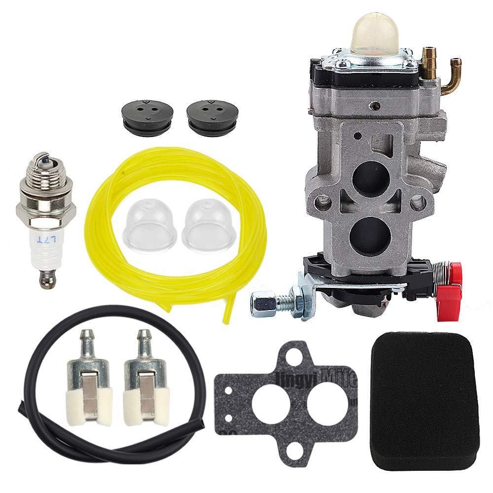 Mckin WYA-79 Carburetor fits Husqvarna 150BT 350BF 350BT Backpack Blower 502845001 WYA-79-1 with Air Filter Tune Up Kit