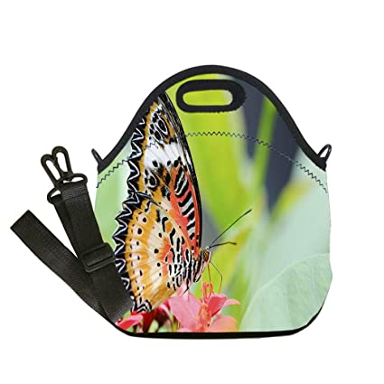 2627a28405b8 Amazon.com: Custom Digital Printing Insulated Lunch Bag, Neoprene ...