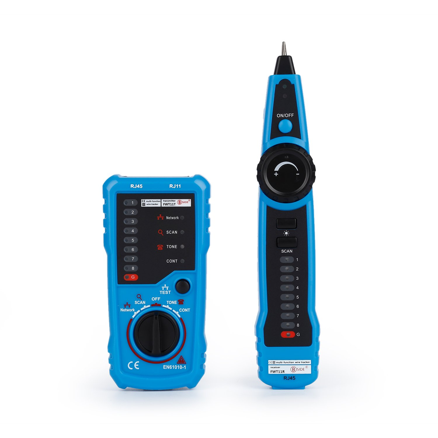 RJ11 RJ45 Cable Tester, LESHP Multifunction Electric Wire Finder Tracker Detector