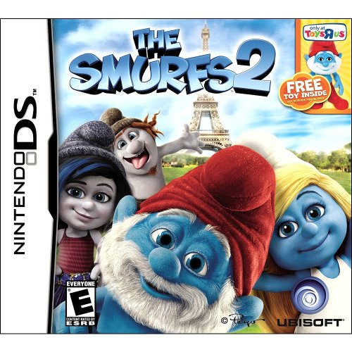 The Smurfs 2 for Nintendo DS with Exclusive TRU (Smurfs Figurine)