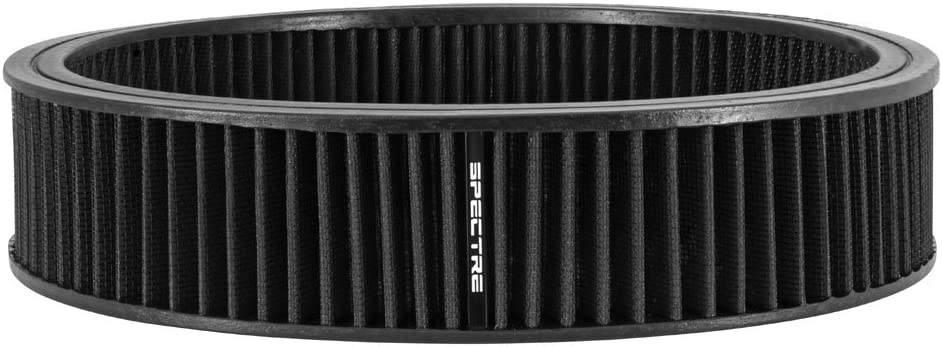 SPE-48021 Premium See Description for Fitment Information Washable Spectre Engine Air Filter: High Performance Replacement Filter: Fits Select 1965-1985 BUICK//CADILLAC//OLDSMOBILE//PONTIAC Vehicles