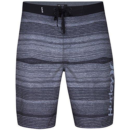 (Hurley Men's Phantom Sandbar Boardshorts, Black, 32)