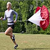 Running Speed Training, Pedal Resistance Parachute Umbrella,Professional Athlete Training Equipment
