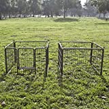 8 Panel Heavy Duty Cage Pet Dog Cat Barrier Fence Exercise Metal Play Pen Kennel