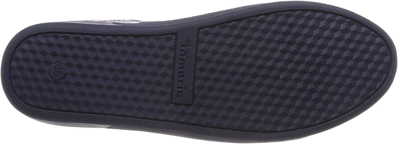 Tamaris 1-1-23774-22 849, Sneakers Basses Femme Bleu Navy Flower 849