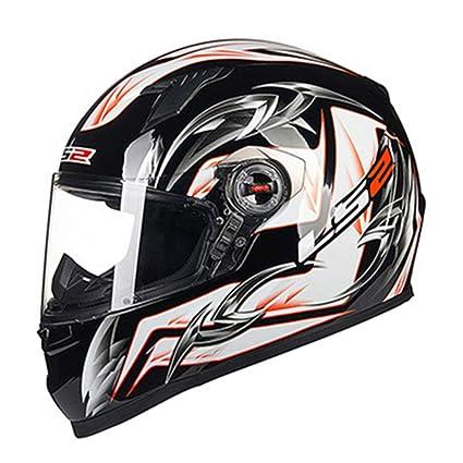 WWUX Cascos De Moto Cascos De Cara Completa Casco De Moto Motocross Racing Cruiser Off Road