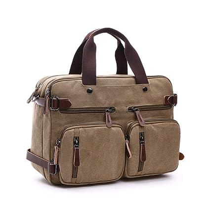 Bag Leather Backpack Men Satchel Shoulder Travel Laptop School Rucksack Vintage.