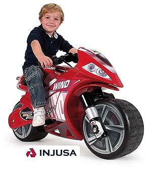 Injusa - 646 - Vélo et Véhicule pour Enfant - Moto Wind 6V  Amazon ... 4810380fa29b