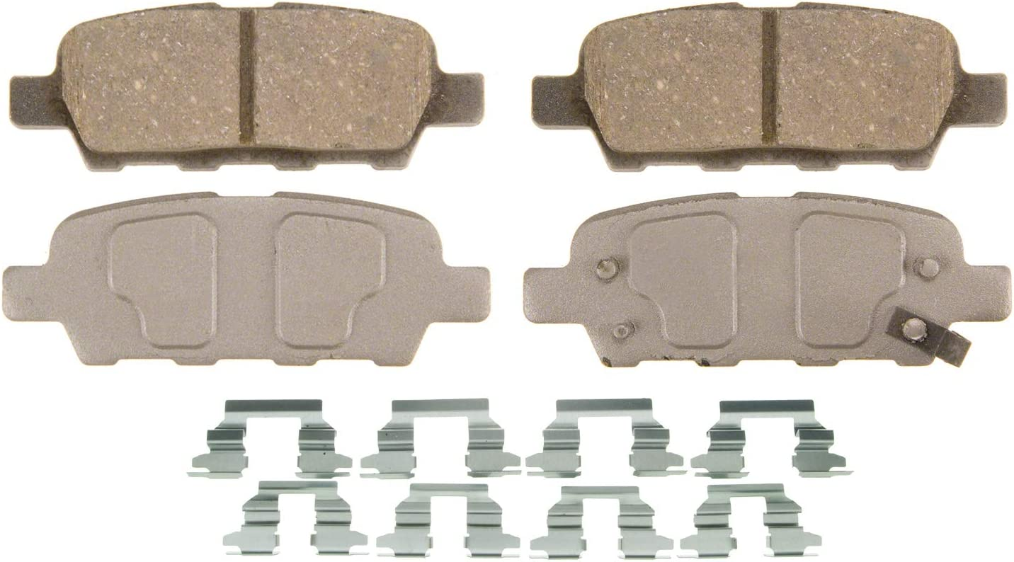 Drivemaster DMP228 Rear Brake Pads Fits Mando System With Acoustic Wear Warning