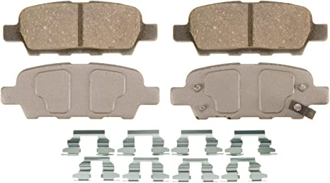 Disc Brake Pad Set-ThermoQuiet Disc Brake Pad Rear Wagner PD1082