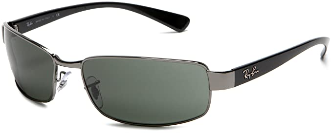 a3a99c6c3d4 Ray-Ban RB3364 - GUNMETAL Frame CRYSTAL GREEN Lenses 62mm Non-Polarized