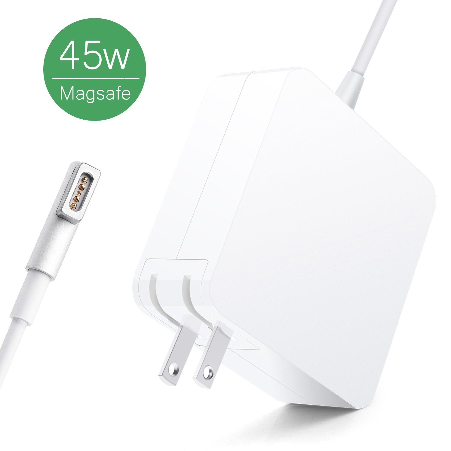 MacBook Air Charger, Kakivan 45w Mac Charger with Magsafe Power Cord L-Tip, MacBook Charger 45w Replacement for MacBook Air 11/13 Inch (Mid2012 Before)